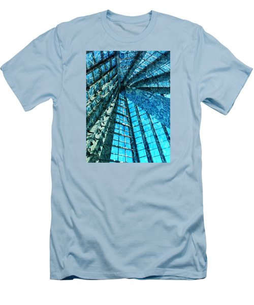 Under The Sea Dwelling Abstract Men's T-Shirt (Athletic Fit)