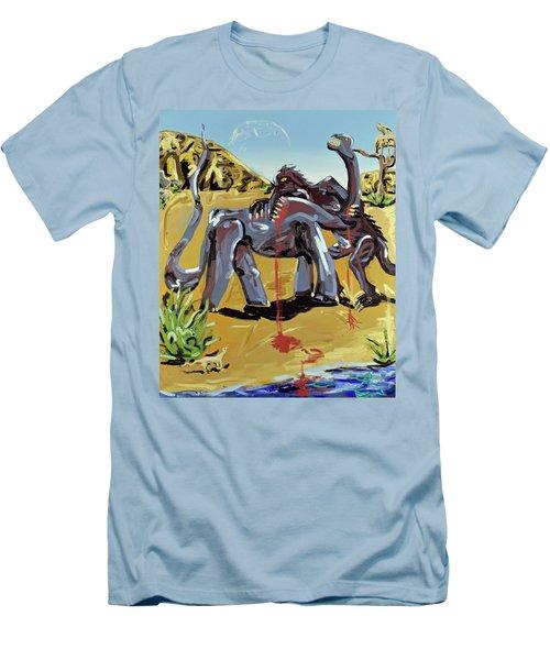 Under The Sun Men's T-Shirt (Slim Fit) by Ryan Demaree