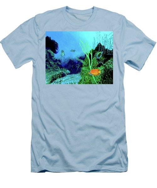 Underwater Men's T-Shirt (Slim Fit) by Stan Hamilton