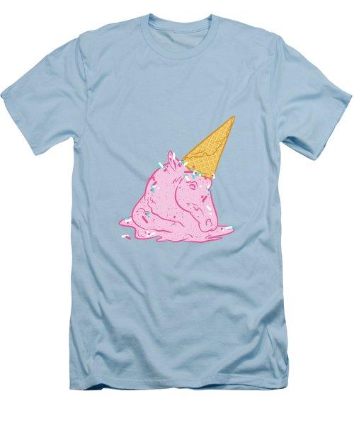 Unicorn Melts Men's T-Shirt (Athletic Fit)