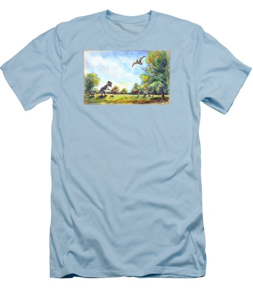 Uninvited Picnic Guests Men's T-Shirt (Athletic Fit)