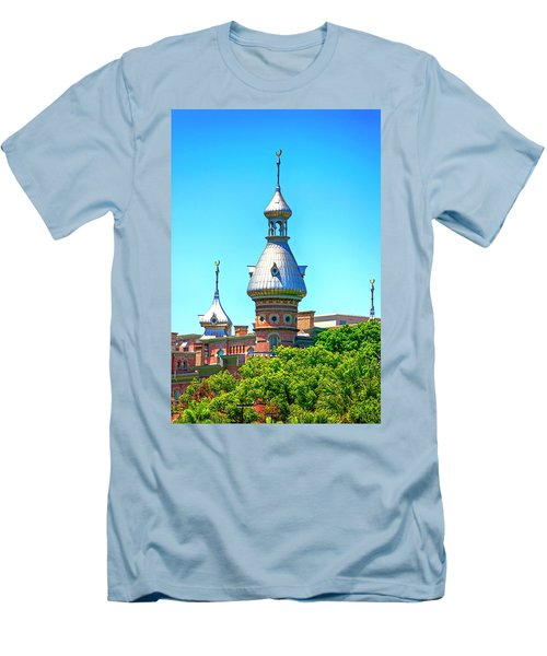 University Of Tampa Minaret Fl Men's T-Shirt (Athletic Fit)