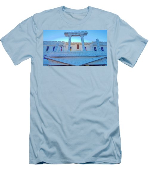 Upside Down White House Men's T-Shirt (Athletic Fit)
