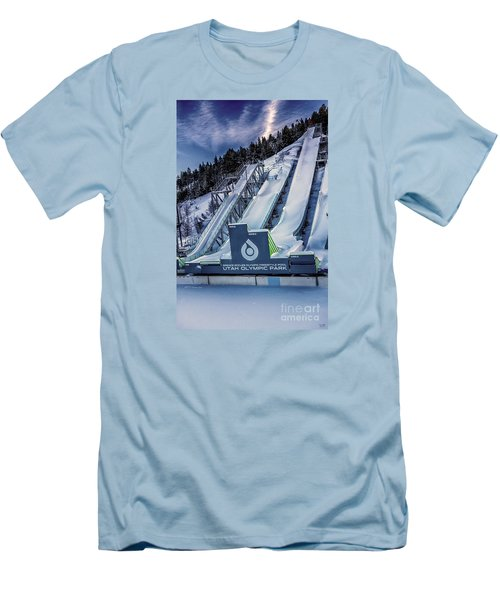 Utah Olympic Park Men's T-Shirt (Athletic Fit)