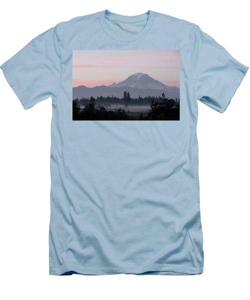 Valley Mists Men's T-Shirt (Slim Fit) by Shirley Heyn