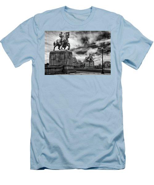 Valor Men's T-Shirt (Slim Fit) by Paul Seymour