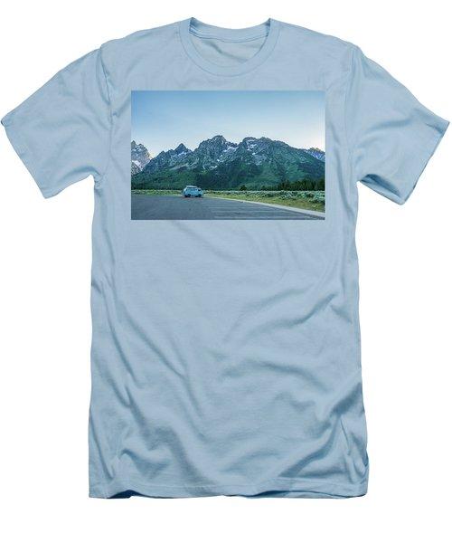 Van Life Men's T-Shirt (Slim Fit) by Alpha Wanderlust