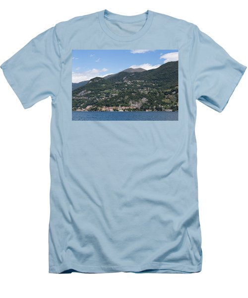 Varenna On Lake Como Men's T-Shirt (Athletic Fit)