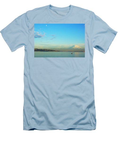 Vashon Island Men's T-Shirt (Slim Fit) by Angi Parks