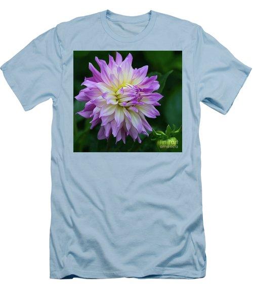 Veca Lucia Dahlia 2 Men's T-Shirt (Athletic Fit)