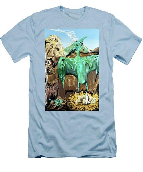 Vega Men's T-Shirt (Slim Fit) by Ryan Demaree