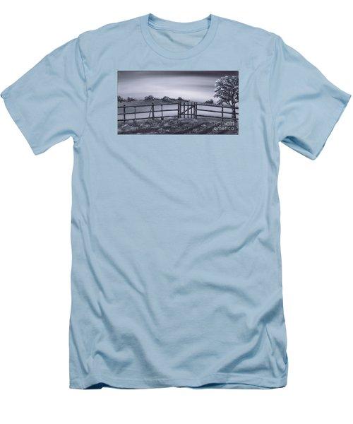 Vegetable Plot Men's T-Shirt (Slim Fit) by Kenneth Clarke