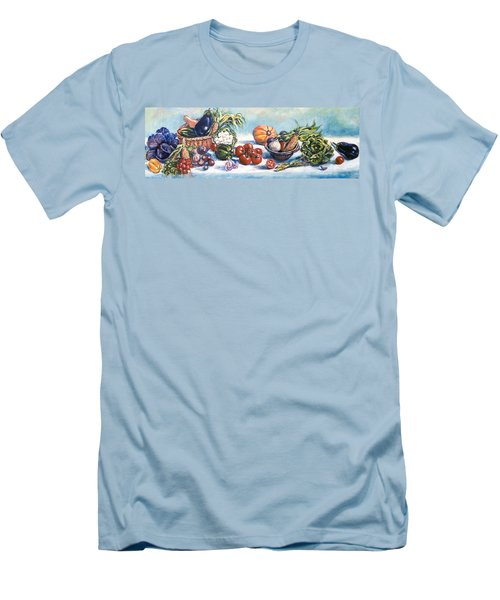 Veggies  Men's T-Shirt (Athletic Fit)