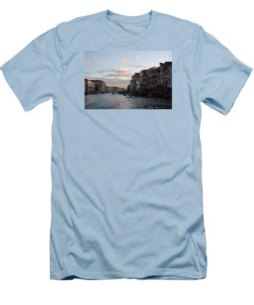 Venice Sunset Men's T-Shirt (Slim Fit) by Robert Moss