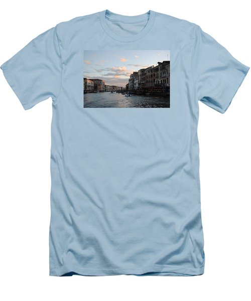 Venice Sunset Men's T-Shirt (Athletic Fit)