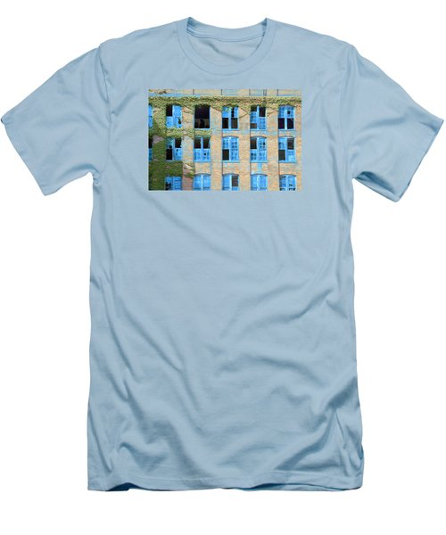 Ventanas Azules Men's T-Shirt (Athletic Fit)