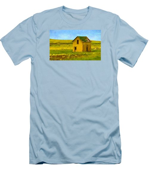 Men's T-Shirt (Slim Fit) featuring the photograph Very Little House by Susan Crossman Buscho