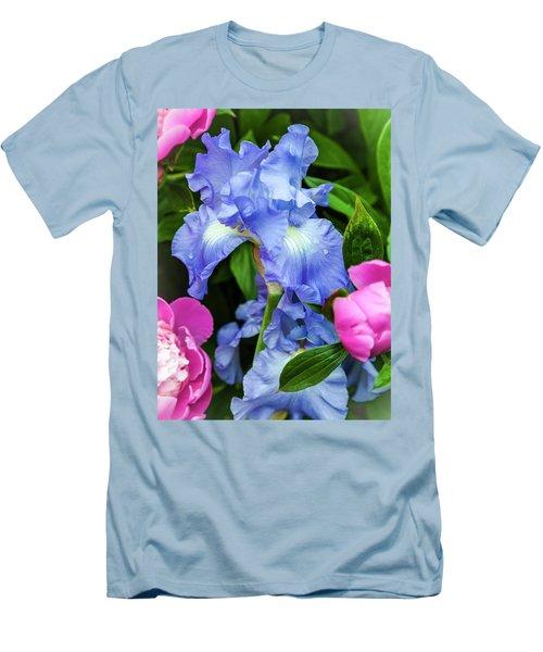 Victoria Falls Iris Men's T-Shirt (Athletic Fit)