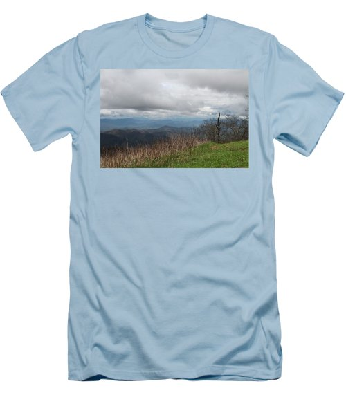 View From Silers Bald 2015e Men's T-Shirt (Athletic Fit)
