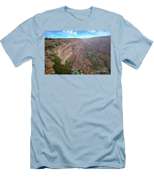 View From The Top Men's T-Shirt (Slim Fit) by Anne Rodkin
