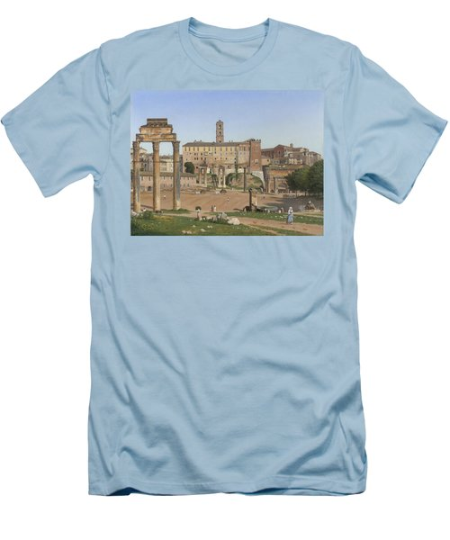 View Of The Forum In Rome Men's T-Shirt (Athletic Fit)