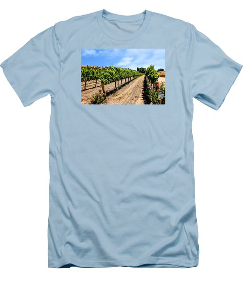 Vines And Roses Men's T-Shirt (Athletic Fit)