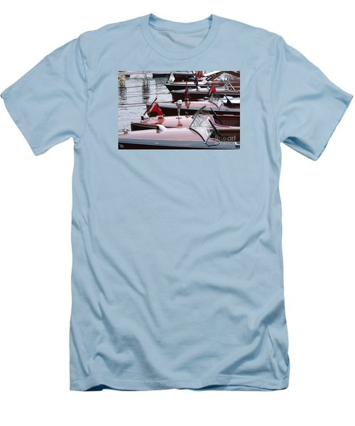 Vintage Boats Men's T-Shirt (Athletic Fit)