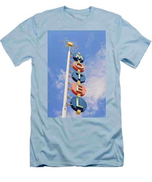 Vintage Motel Men's T-Shirt (Athletic Fit)