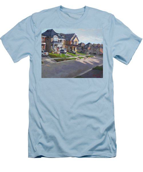 Viola's House In Georgetown On Men's T-Shirt (Athletic Fit)