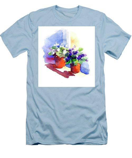 Violets Are Blue Men's T-Shirt (Athletic Fit)