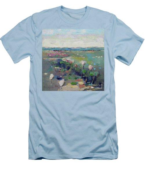 Visiting Town 1603 Men's T-Shirt (Athletic Fit)