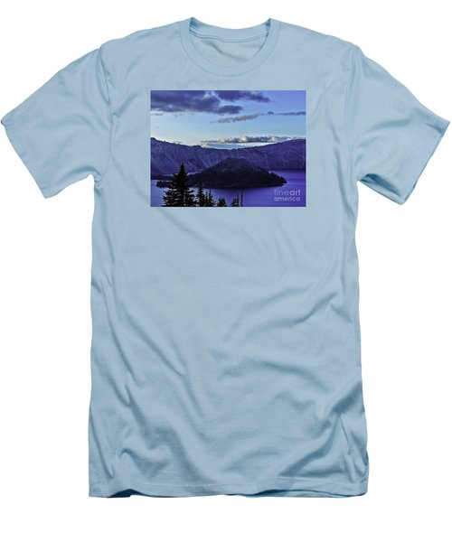 Volcano Within Men's T-Shirt (Slim Fit) by Nancy Marie Ricketts