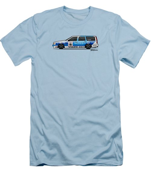 Volvo 850r Twr British Touring Car Championship  Men's T-Shirt (Athletic Fit)