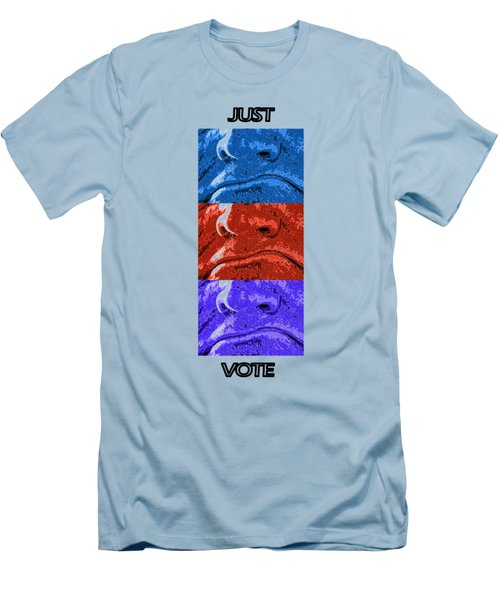 Vote Your Choice Men's T-Shirt (Slim Fit) by Aliceann Carlton