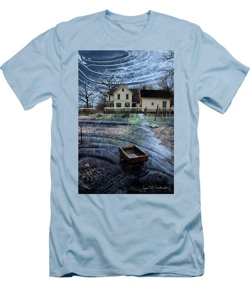 Wagon Men's T-Shirt (Slim Fit) by Joan Ladendorf