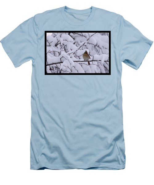 Men's T-Shirt (Slim Fit) featuring the photograph Waiting For Mr. C by Shari Jardina