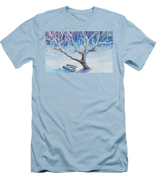 Waiting For Spring Men's T-Shirt (Slim Fit) by Ruth Kamenev