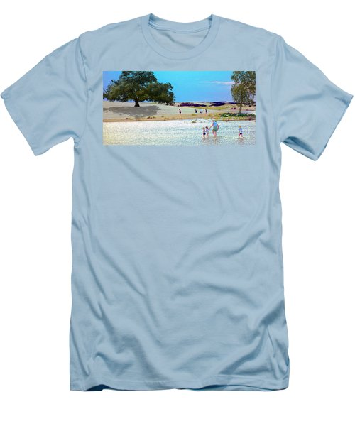 Waiting In The Water Men's T-Shirt (Athletic Fit)