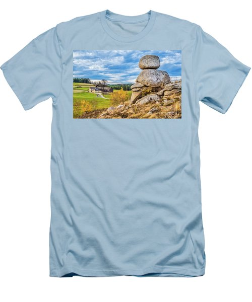 Waldviertel Men's T-Shirt (Slim Fit) by JR Photography