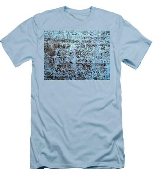 Wall Abstract 163 Men's T-Shirt (Slim Fit) by Maria Huntley