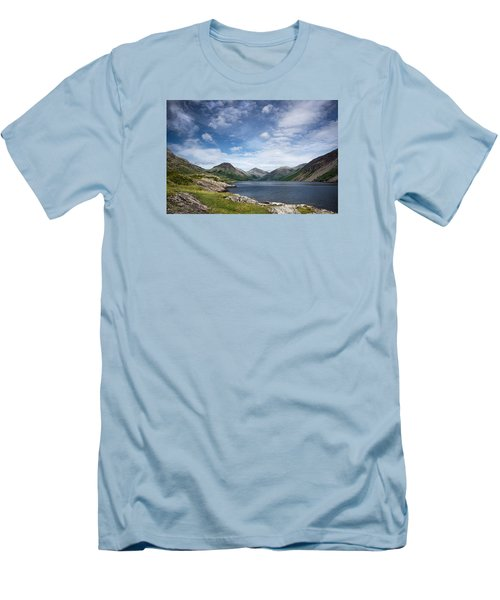 Wastwater Morning Men's T-Shirt (Slim Fit) by Jacqi Elmslie