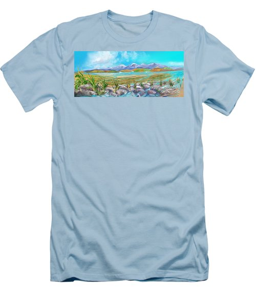 Water For Irrigation  Men's T-Shirt (Athletic Fit)