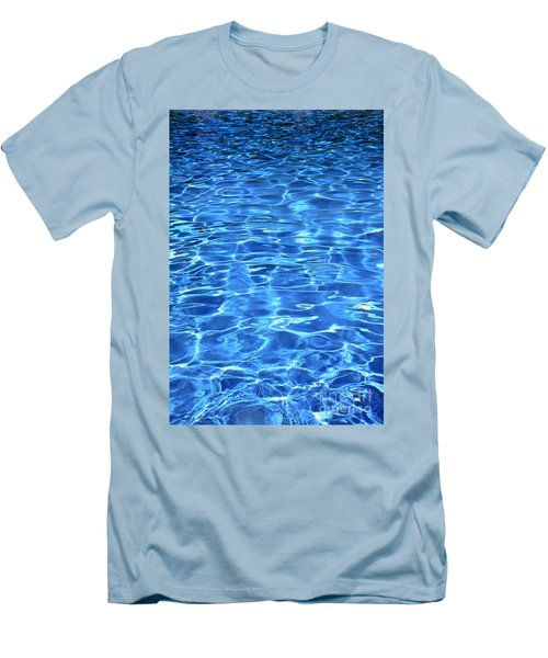 Men's T-Shirt (Slim Fit) featuring the photograph Water Shadows by Ramona Matei