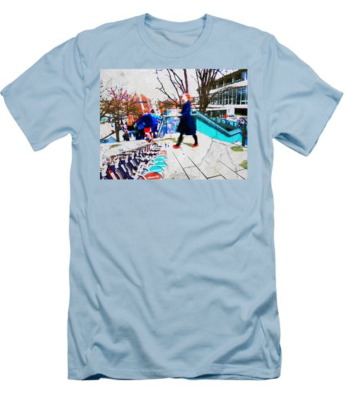 Waterloo Street Scene Men's T-Shirt (Athletic Fit)
