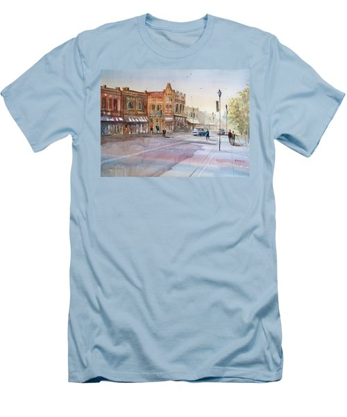 Waupaca - Main Street Men's T-Shirt (Athletic Fit)