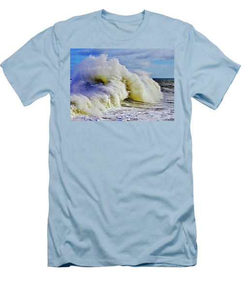 Moody Surf Men's T-Shirt (Slim Fit) by Michael Cinnamond