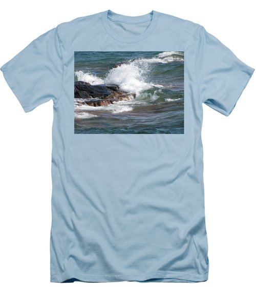 Wave Length Men's T-Shirt (Athletic Fit)
