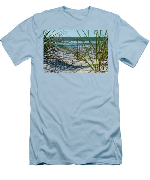 Waves Through The Grass Men's T-Shirt (Athletic Fit)