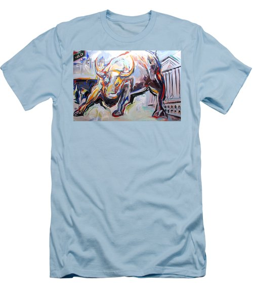 Wealth Men's T-Shirt (Slim Fit) by John Jr Gholson