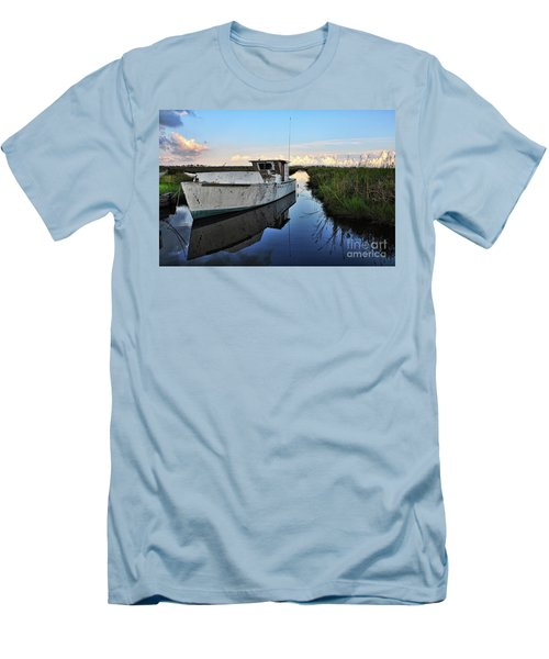Weathered Reflection Men's T-Shirt (Athletic Fit)